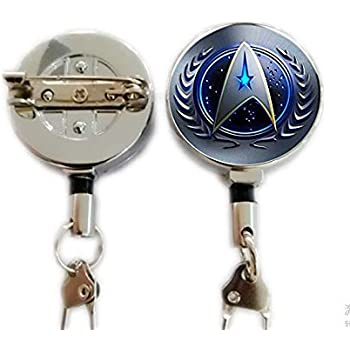 Original Engineering Badge Star Trek Retractable Badge Holder Badge Reel
