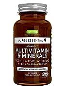 VITAMINES ET MINÉRAUX BIOACTIFS: ce complexe de multivitamines végétaliennes contient 22 nutriments clés sous leur forme la plus biodisponible y compris des vita-mines B méthylées comme le folate et la méthylcobalamine (B12), vitamine C, D3 et K2. FO...