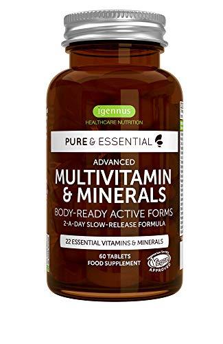 Pure & Essential Complejo Multivitamínico Completo,