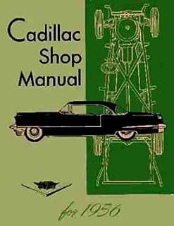 1956 Cadillac Repair Shop Manual Reprint