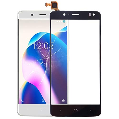 YANTAIAN Piezas de reparación de teléfonos celulares Panel táctil for BQ Aquaris U2 / U2 Lite (Color : Black)