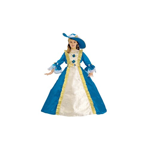 Dress Up America Costume d'enfant bleue Princess