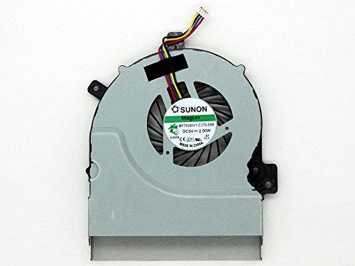 ASUS Thermal Fan - Notebook-Ersatzteile (CPU Cooling Fan, K55A/K55VD/K55VJ/K55VM, Schwarz, Edelstahl)