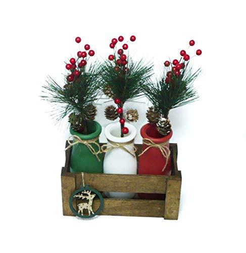 Arreglos navideños, centros de mesa, flores de pascua. Ideal decoración navidad.