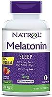 Natrol Melatonin Fast Dissolve Tablets, Helps You Fall Asleep Faster, Stay Asleep Longer, Easy to Take, Dissolve in...