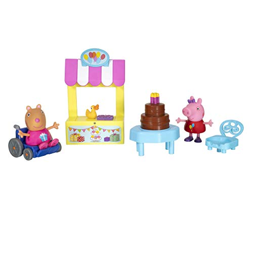 Peppa Pig Birthday playset is a cute Easter basket stuffer for toddlers