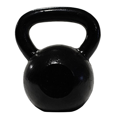 DWC Cast-Iron Kettlebells (50 - 90lbs) for Functional Training and CrossFit Movements, Uncoated (80 LB)