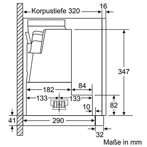Bosch DFS067J50 Serie 8 Flachschirmhaube – Edelstahl - 9