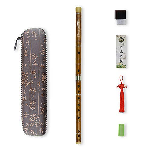 G Key Dizi Bitter bambú Flauta para principiantes...