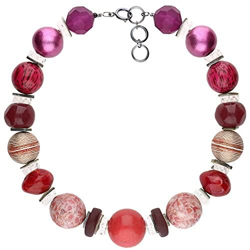 langani Damenhalskette Amadu Halskette für Damen Handmade Since 1952 opulenter Modeschmuck