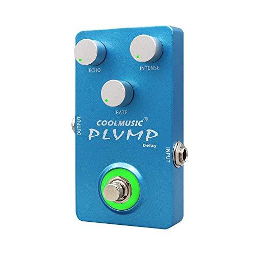 Coolmusic C-DE01 Plump Delay Gitarre Effektpedal Analog Delay Pedal