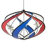 Patriotic Galaxy - Hanging Outdoor Garden Wind Spinner