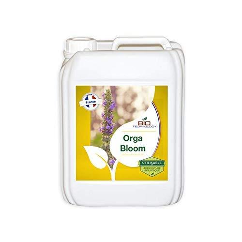 Bio Technology® | Engrais Biologique et Naturel | Engrais Floraison | Fertilisant Floraison Organique | Engrais Complet Floraison | Super Engrais respectueux de l'Environnement | ORGA Bloom – 5 L