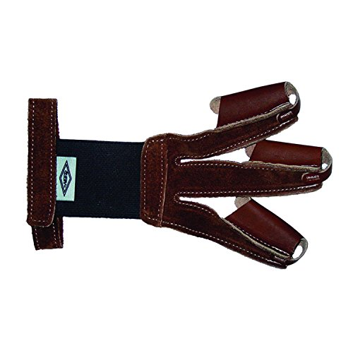 Neet 60143 FG-2L Shooting Glove Leather Tan Large