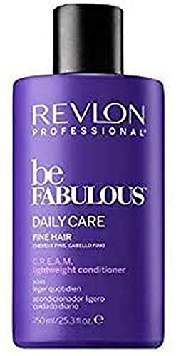 REVLON PROFESSIONAL Be Fabulous Daily Care Fine Hair C.R.E.A.M. Conditioner, 1er Pack (1 x 750 ml)