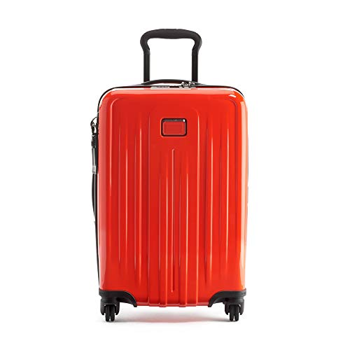 TUMI - V4 International Expandable Carry-On Luggage - 22 Inch Hardside Suitcase for Men and Women - Bright Red