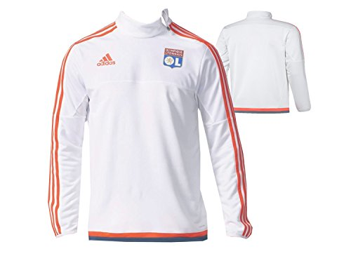 Adidas Olympique Lyon TrainingTop OL Sweatshirt wit