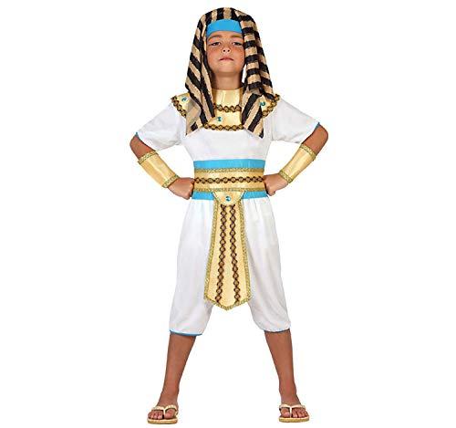 Atosa-23298 Disfraz Egipcio, color dorado, 5 a 6 años (23298)