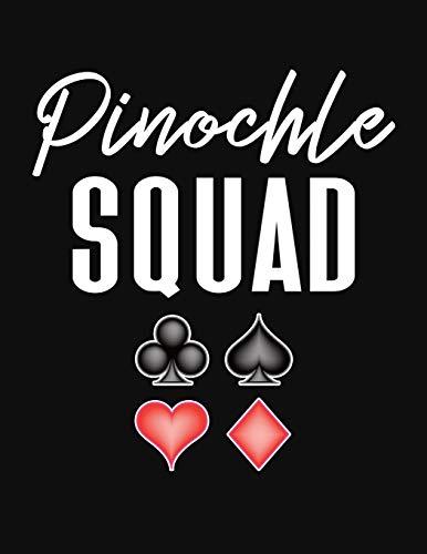 Pinochle Squad: Pinochle Scoring Sheets