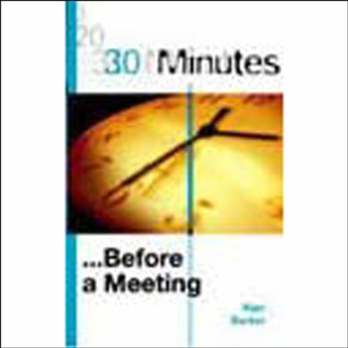 30 Minutes Before a Meeting (Executive Summary) cover art