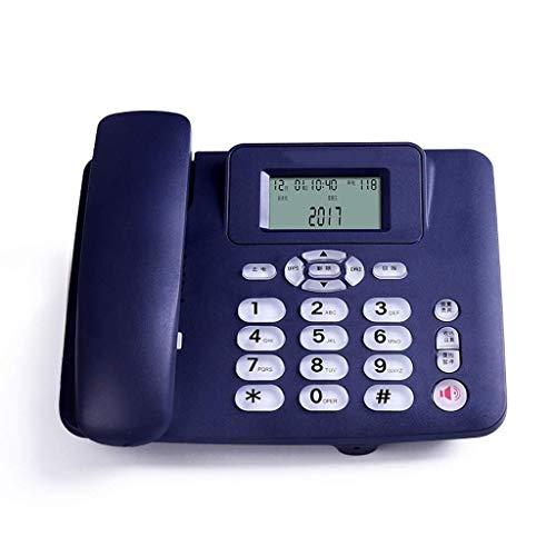 Vast, Draadloze Telefoon Met, Hinder Call Blocker En Digitaal Antwoordapparaat, Wired Gezeten Vaste Telefoonlijn Zetel Thuiskantoor Basisstation Stand-alone Enkele (Color : B)