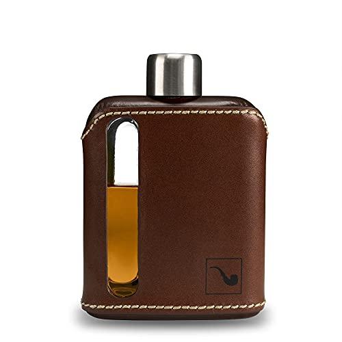 Ragproper - Petaca de cristal para whisky y licores
