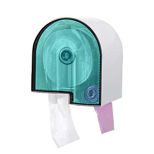 Dispensador de toallas de papel Dispensador de toallas de papel soportes de papel montado en la pared dispensador de agua impermeable baño dispensador de tejido bolsas de basura dispensador Dispensado