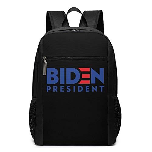 ZYWL Biden President 2020 Elections Laptop Backpack 17-Inch Travel Backpack Bookbag Bussiness Bag
