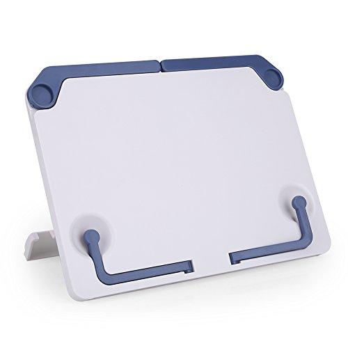 Alomejor Bureau muziekstandaard ABS plastic tablet muziekstandaard kookboek boek telefoon pad stand