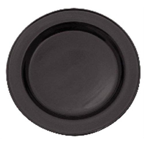 Steelite V2735 Carnaval Onyx Slimline Platen, 157,5 mm, Zwart (Pak van 36)