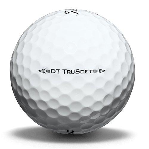 Titleist DT Trusoft Prior Generation Golf Balls, Yellow (One Dozen)