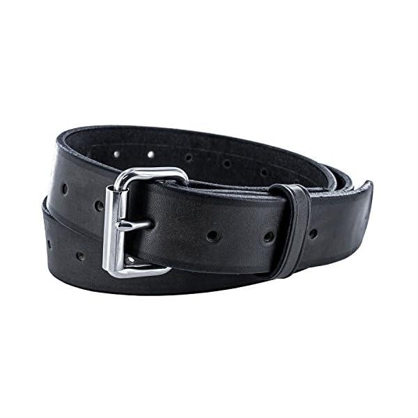 Hanks Utility Belt – 1.5″ Heavy-Duty Leather Belt – USA Made, 100-Year Warranty