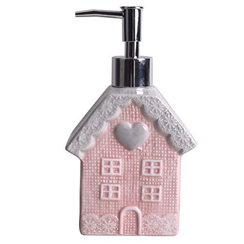Vencer Lotion Pump/Soap Dispenser,15oz Kitchen Soap Dispenser for Bathroom,Hand Soap, Dish Soap(Pink),VHC-008