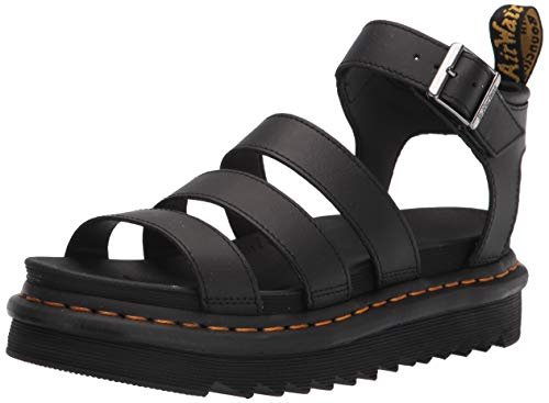 Dr. Martens Damen DM24235001_39 Outdoor Sandals, Black, EU