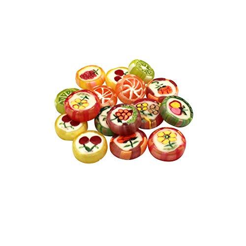 Rocks Bonbons einzeln verpackt Lutscher Karamelle Tisch Deko Hochzeit Taufe Kommunion Party Geburtstag Candy Bar 500g