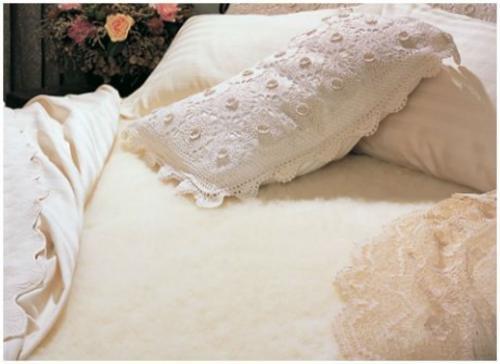 Hot Sale SnugFleece Original Wool Mattress Pad - Calif. King