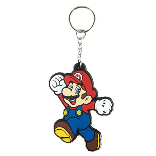super mario brothers blinds Bioworld Nintendo Super Mario Bros. Rubber Key Chain
