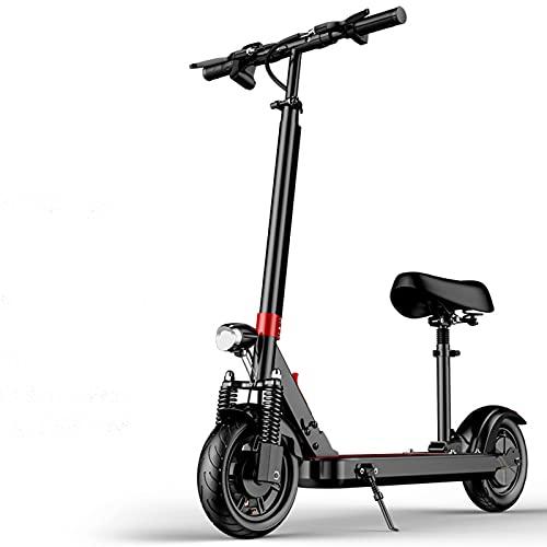 qwert Motor De 500W Plegable E-Scooter,Doble Sistema De Frenado,Urban Commuter con Asiento...