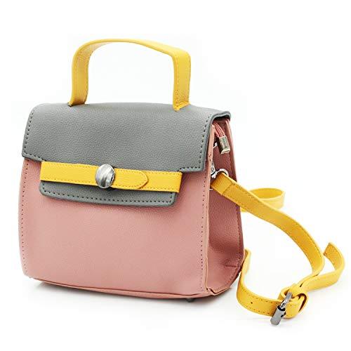 MISEMIYA - Bolsos bandolera Bolsos de hombro Bolsos para mujer bolso shopper bolsos Mujer SR-J530 - Rosa