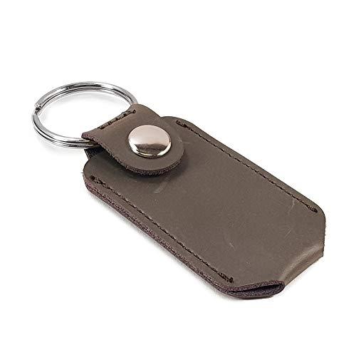TUFF LUV Echt Leder Holster Hülle Tasche Für Victornox Victorinox Classic SD Swiss Army Pocket Tool - - Braun