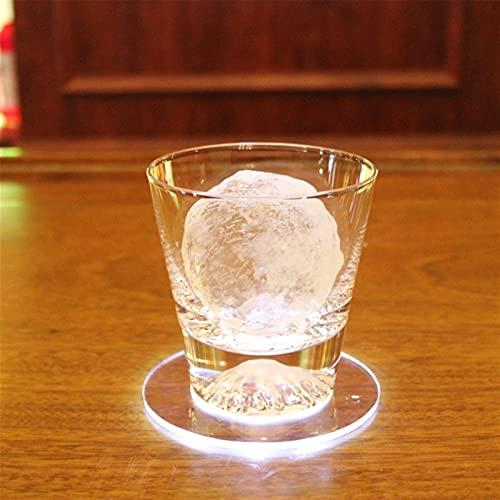 Práctico de costa luminoso de acrílico, práctico de costa de la atmósfera que destella del LED para la fiesta de vacaciones comercial del bar y del restaurante ( Color : Cold white , Size : 10PCS )