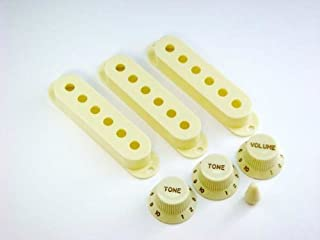 MIJ Knobs and Pickup Covers Set for Stratocaster Mint Green fa-st7mm-mgn
