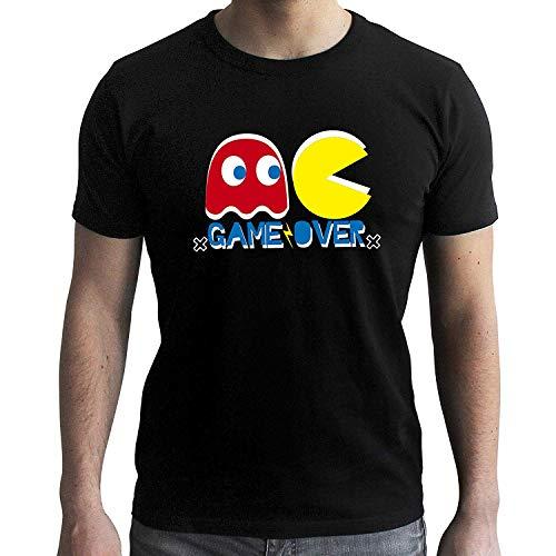 Men's Pac-Man Game Over Premium Black T-shirt, XS to XXL