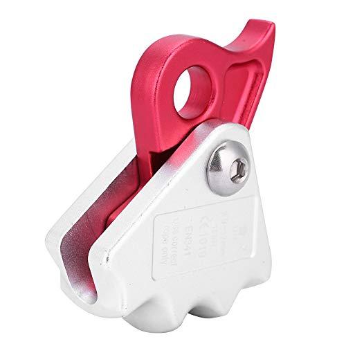 Goick Climbing Descender-15KN Dispositivo de Descenso de Parada de Freno automático para Equipo de Escalada de Anillo de Rappel de Descenso de Rescate de Cuerda de 9-12 mm