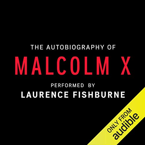 The Autobiography of Malcolm X audiobook cover art