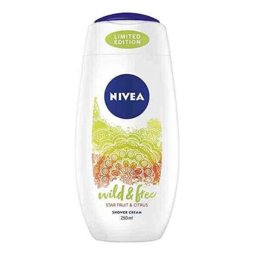 ブルゴーニュジュラシックパーク読書[Nivea ] ニベアシャワーワイルド&無料シトラス250ミリリットル - NIVEA Shower Wild & Free Citrus 250ml [並行輸入品]