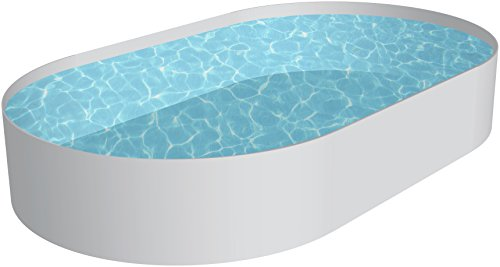 Chemoform Schwimmbecken Oval Pool Lugano 3,50 x 7,00 x 1,50m