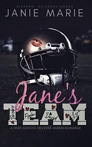 Jane\'s Team: A High School Reverse Harem Romance (English Edition)