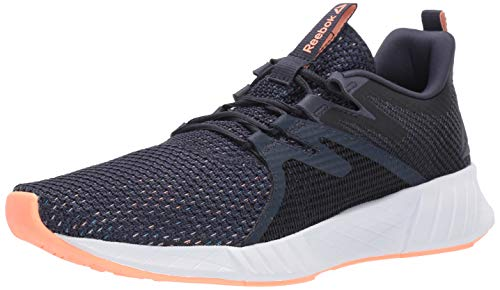 Reebok Women's FUSIUM Run 2.0 Shoe, Heritage Navy/Cyan/Porcelain, 8.5 M US