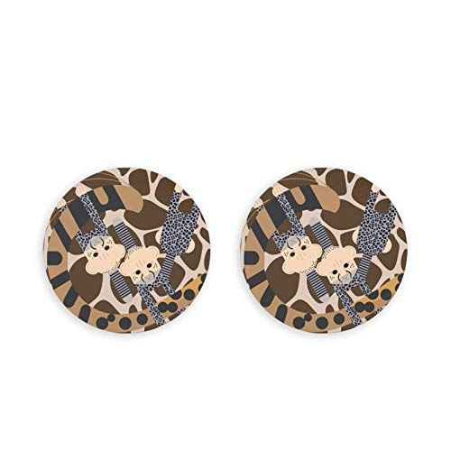 Giraffa pelle di leopardo stampa magneti frigorifero apribottiglie birra, coca cola vino soda apribottiglie magneti frigo cucina 2 pezzi